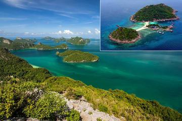 Tagesausflug zum Ang Thong Marine National Park und nach Koh Nang...