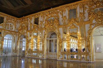 Tour met kleine groep door Tsarskoe Selo (Tsarendorp) en ...