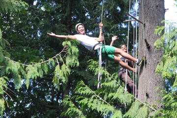 Canopy Tree Climbing at Deception...