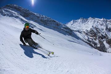 Clases de esquí particulares en Saas-Fee