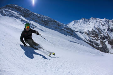 Private Ski Lessons in Saas-Fee
