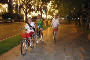 Kvällstur i Bangkok på cykel