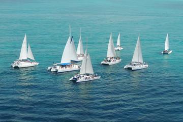 Croisière en voilier et plongée avec tuba à Isla Mujeres au départ de...