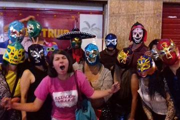 Experiência de lucha libre na Cidade do México