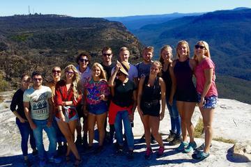 Blue Mountains äventyrs- och vandringsrundtur i liten grupp