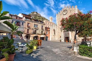 Excursion d'une demi-journée à Giardini Naxos, Taormine et Castelmola...