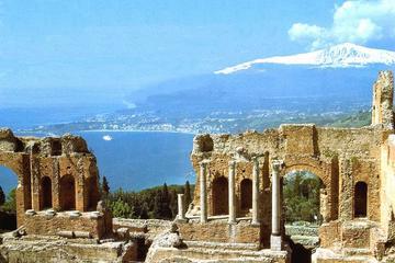 Tour de día completo de Etna y Taormina desde Catania