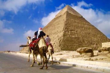 4 Days Cairo City tour Included The Great Pyramids - Egyptian Museum - Saqqara - Maemphis - Old City - Khan El Khalily Bazar and a Dinner Cruise
