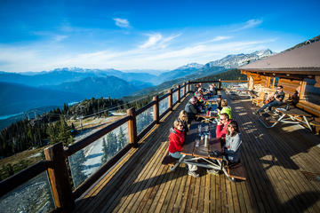 Whistler Blackcomb Salmon Bake Dinner and Jeep 4x4 Tour