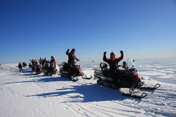 Snowmobile Safari in Helsinki...