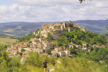 Albi visit, Cordes village, Gaillac wines from Toulouse