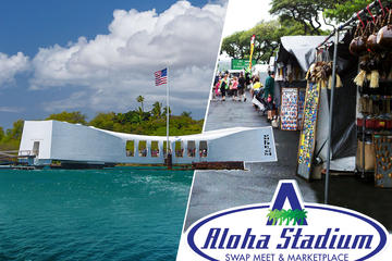 Pearl Harbor And Flea Market Combo Tour