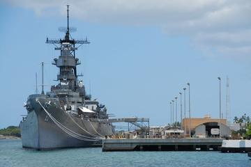 Pearl Harbor - USS Arizona Memorial...