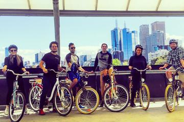Melbourne Bike Tour with Coffee and Drinks Including Yarra River and...