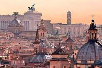Rome on Arrival: One-Way Private Transfer and Driving Tour of Rome from FCO