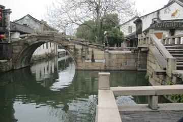 Private Tour to Zhouzhuang Water Village and Grand View Garden with Local Family's Lunch