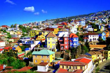 Recorrido por la costa de puerto de Valparaíso y Viña del Mar desde...