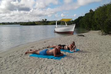 ShoppingCadeaux.com view picture of Day Trip to Ile Aux Cerfs Island and Grand River South East Waterfall in Mauritius
