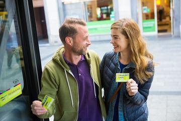 Dublin Pass med hopp-på-hopp-av-tur og adgang til over 30 attraksjoner