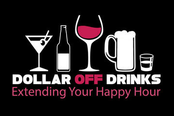 Dollar Off Drinks Card : Orlando