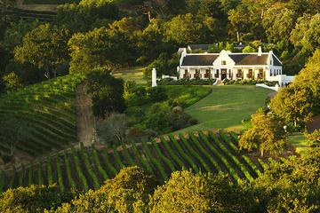 Excursão vinícola particular a Constantia, partindo da Cidade do Cabo