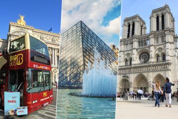 Parispass inklusive inträde till över 60 attraktioner