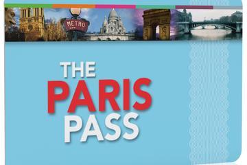 Parispass med hoppa på/hoppa av-rundtur med buss och inträde till ...