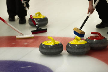 Curling Game in Prague