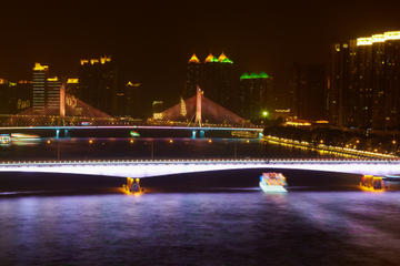 Pearl River Night Cruise in Guangzhou with Private Transport