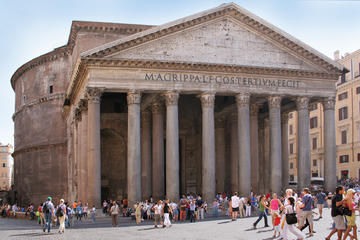 Pantheon and Santa Maria Sopra...