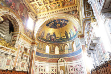 Rome Walking Tour of Holy Sites: Basilica of the Holy Cross in Jerusalem, San Giovanni in Laterano and Scala Santa