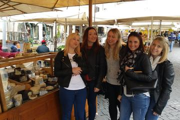 Trevi Fountain, Pantheon, and Campo De' Fiori Market Food and Wine...