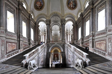 Visita guiada privada al Palacio Real de Caserta y jardines