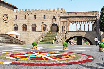 Viterbo Private City Tour including Popes Tombs Conclave Palace and Duomo