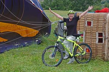 E-bike et Balloon Ride