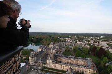 Passeio de balão de ar quente em Fontainebleau