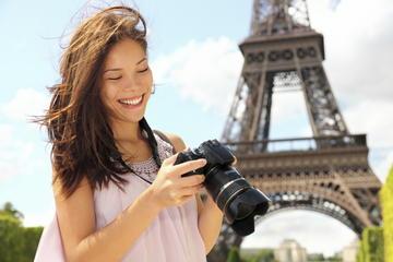 パリ市内観光とエッフェル塔の半日ツアー