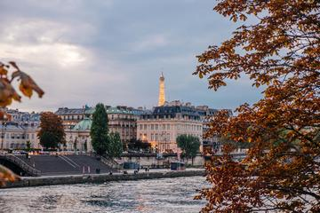 Bytur i Paris, sejltur på Seinen og besøg i Eiffeltårnet