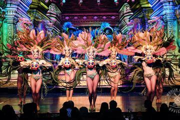 Diner en show in de Moulin Rouge van Parijs, met vervoer