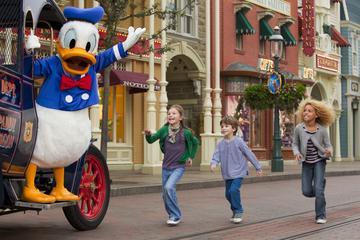 Disneyland Resort Paris med transport fra sentrum av Paris