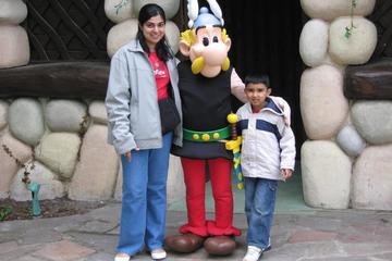 Ingressos e transporte para o parque temático Parc Asterix