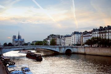 Kryssning på Seine och rundtur i upplysta Paris