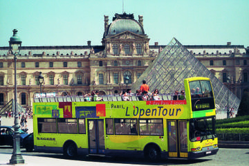 L'Open Hop-on-Hop-off-Tour durch Paris