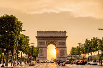 Rundtur i Paris, elvecruise på Seinen og Eiffeltårnet