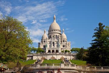 Rundtur i Paris med minivan og Montmartre