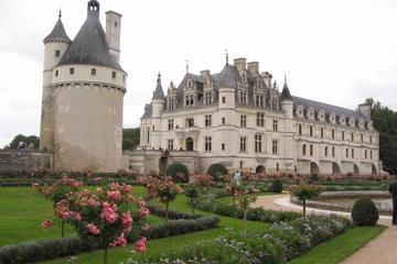 Schlösser im Loire-Tal bei einem...