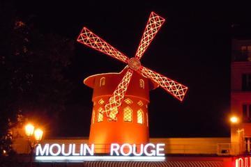 Spettacolo al Moulin Rouge con