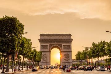 Stadstur i Paris, kryssning på Seine och Eiffeltornet