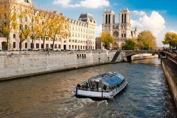 Stadstur i Paris och kryssning på Seine