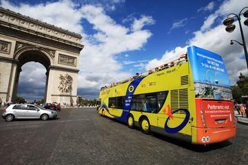 Tour combinato Hop-On Hop-Off di Parigi con autobus turistico e
